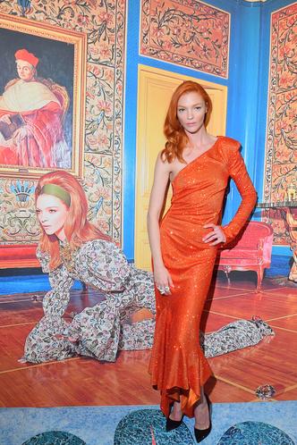 Как с полотна Матисса: Мариякарла Босконо на вечере Swarovski (фото 1.1)