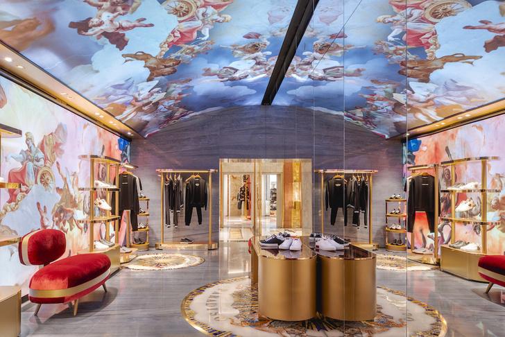 Экстравагантный бутик Dolce&Gabbana в Риме (фото 13)