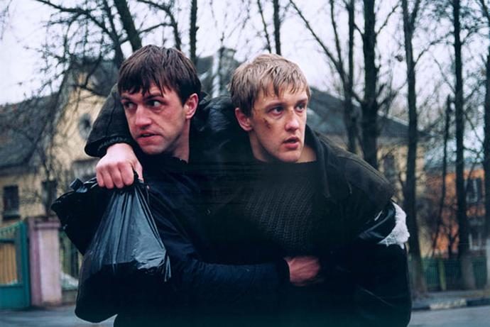 Кадр из фильма «Бумер»