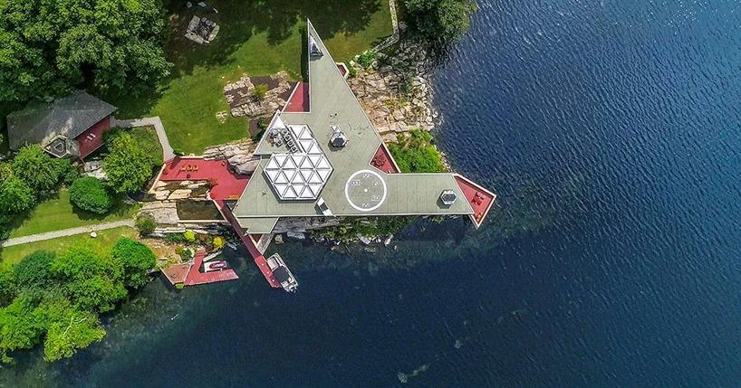 Под Нью-Йорком продается частный остров с домами Фрэнка Ллойда Райта (галерея 7, фото 0)