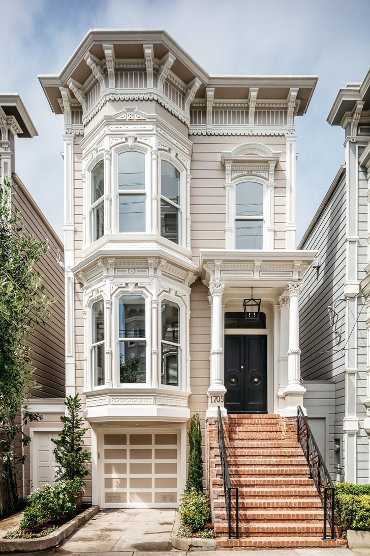 Американская мечта: особняк XIX века в Сан-Франциско (фото 0)
