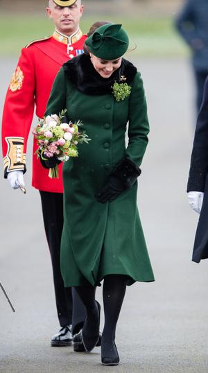 Кейт Миддлтон и принц Уильям на параде в честь Дня святого Патрика (фото 8.1)