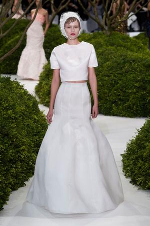 Показ Christian Dior коллекции сезона Весна-лето 2013 года Haute couture - www.elle.ru - Подиум - фото 477469