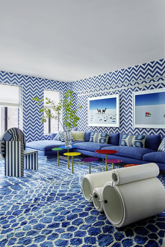 Синий цвет в интерьере: 30 проектов (галерея 0, фото 14)