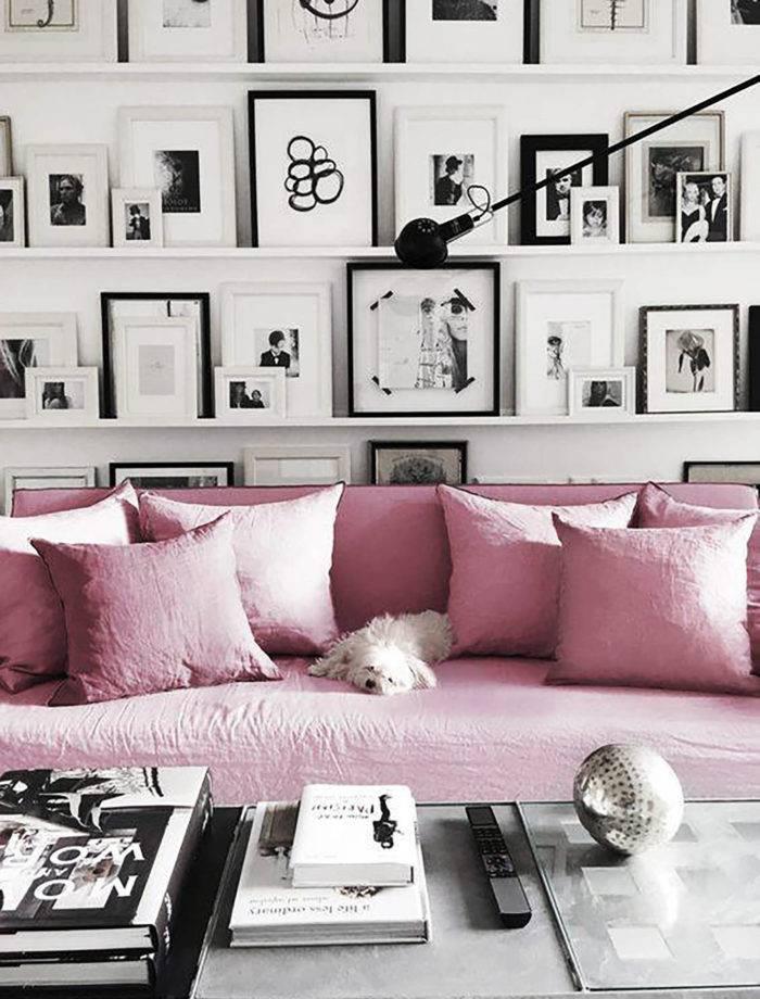 Розовый цвет в интерьере: как использовать и с чем сочетать (фото 24)