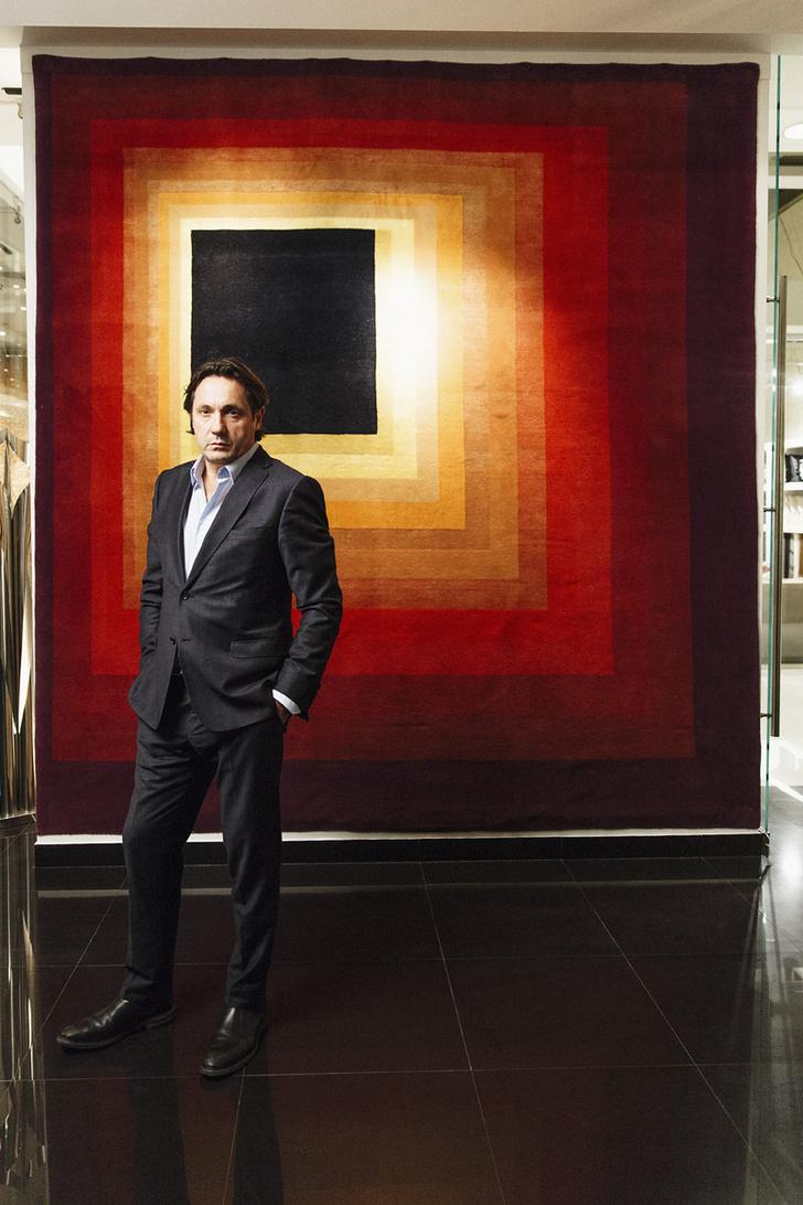 Дидье Марьен, владелец галереи Boccara