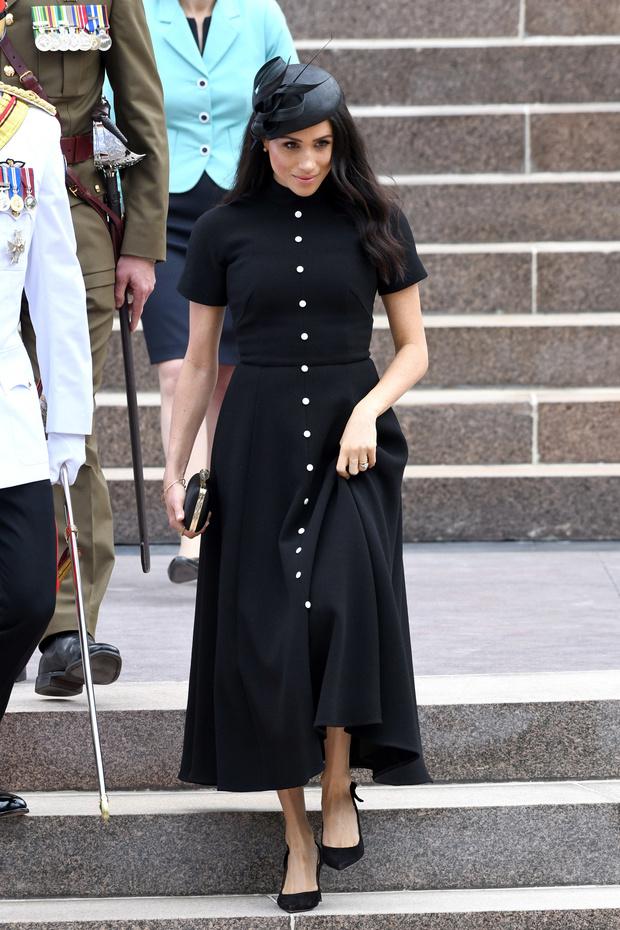 Прощай, королева: 30 лучших выходов Меган Маркл в качестве члена монаршей семьи (фото 46)