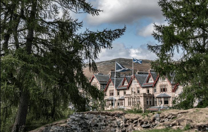 Отель в старинном охотничьем домике в Шотландии (фото 0)