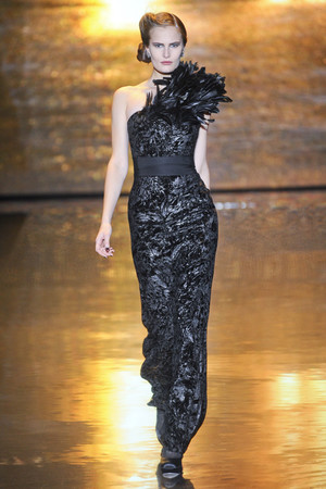Показы мод Badgley Mischka Осень-зима 2011-2012 | Подиум на ELLE - Подиум - фото 2360