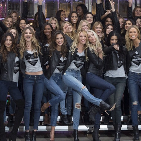 как модели Victoria's Secret готовятся к ежегодному шоу
