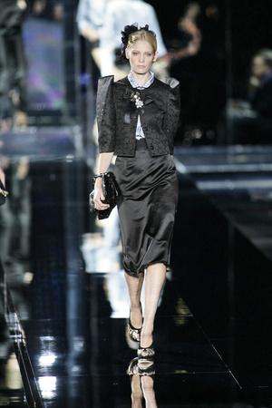 Показ Dolce & Gabbana коллекции сезона Весна-лето 2009 года prêt-à-porter - www.elle.ru - Подиум - фото 81494
