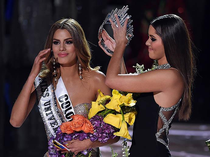Церемония награждения Ариадны Гутьеррес