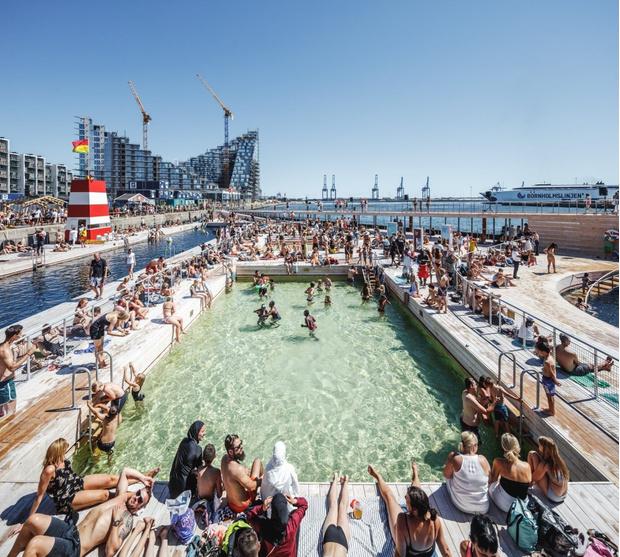 Гавань-бассейн Бьярке Ингельса в Дании (фото 5)