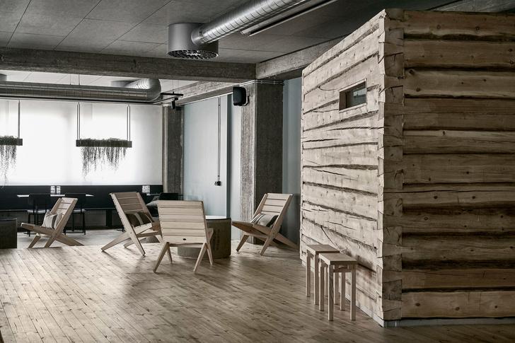 Дуб, бетон и скандинавский дизайн: сауна по проекту Studio Puisto (фото 0)