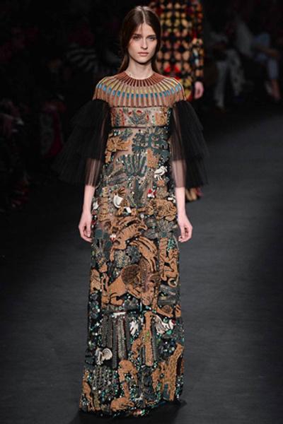 Неделя моды в Париже: показ Valentino ready-to-wear осень — зима 2015-2016 | галерея [1] фото [1]