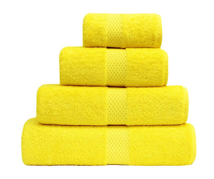 Банные полотенца Etoile mimosa, Yves Delorme