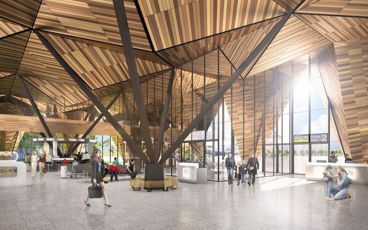 Проект реконструкции аэропорта Нового Уренгоя (фото 10)
