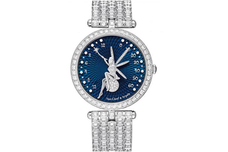Часы Fairy, Van Cleef & Arpels, бутики Van Cleef & Arpels.