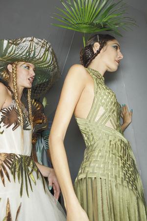 Показ Jean Paul Gaultier коллекции сезона Весна-лето 2010 года Haute couture - www.elle.ru - Подиум - фото 139090