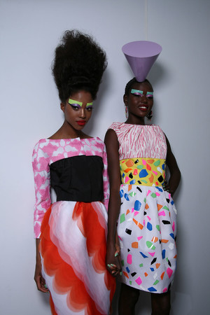 Показ Christian Dior коллекции сезона Осень-зима 2011-2012 года Haute couture - www.elle.ru - Подиум - фото 277214