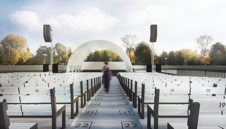 На ВДНХа откроют летний театр на воде