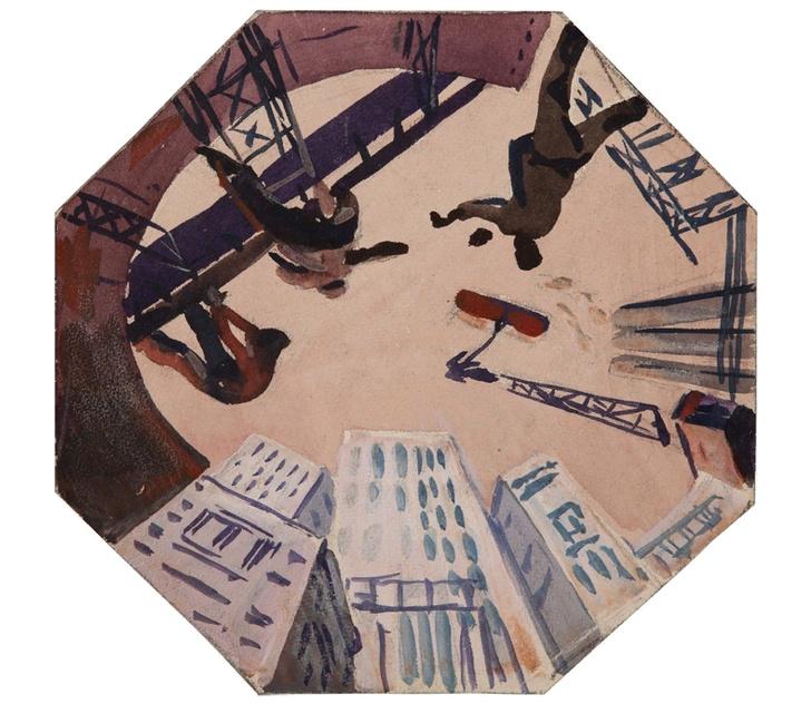 Выставка Александра Дейнеки в МУАР (фото 4)