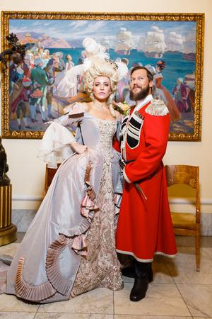 Виктория Шелягова и Петр Аксенов