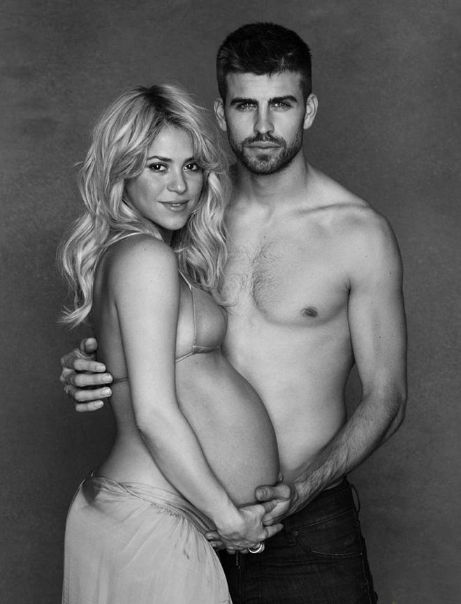 Шакира и Жерар Пике в ожидании первого ребенка