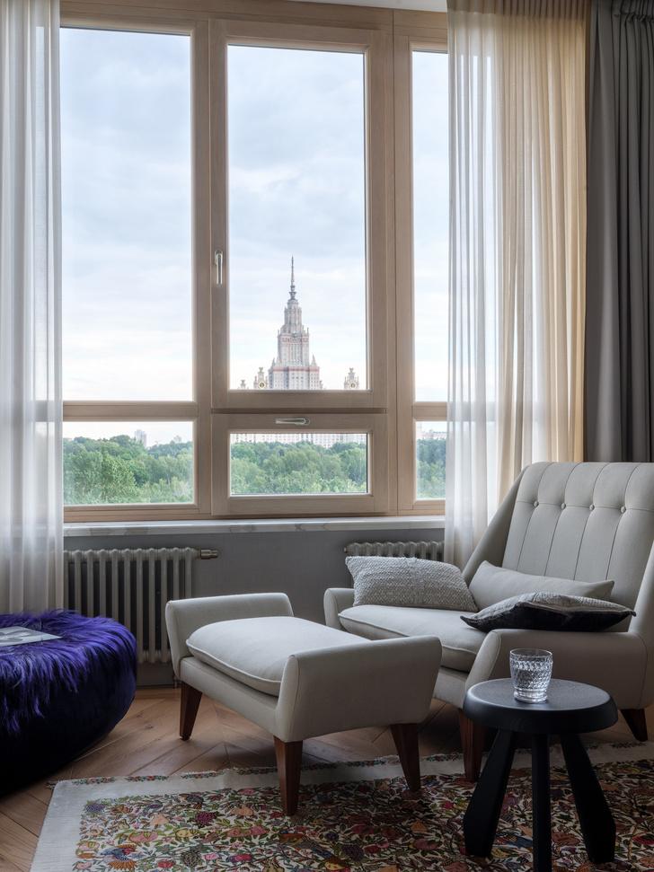 Квартира 120 м² с видом на МГУ (фото 0)
