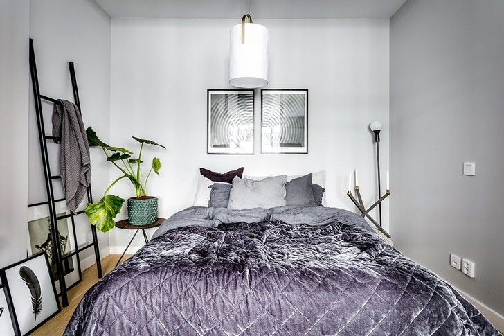Маленькая спальня: 7 практичных решений (фото 4)