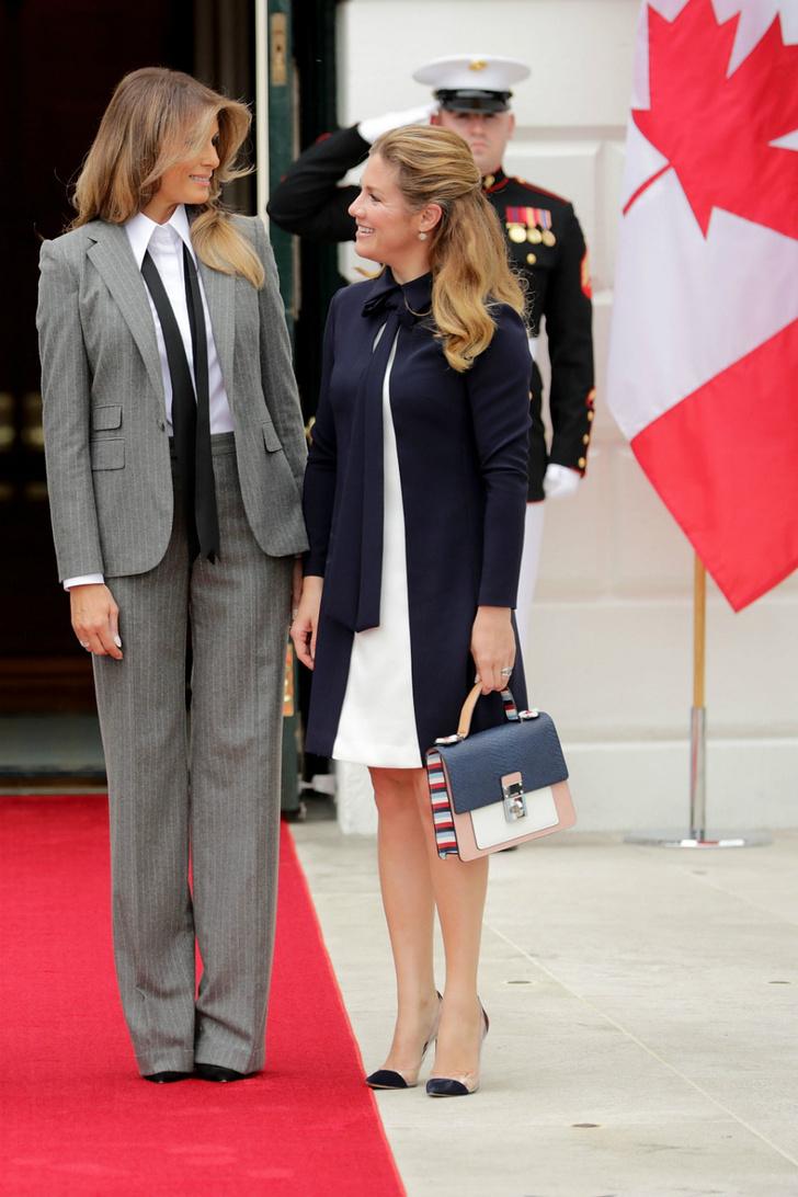Образ дня: Мелания Трамп в Ralph Lauren фото [4]
