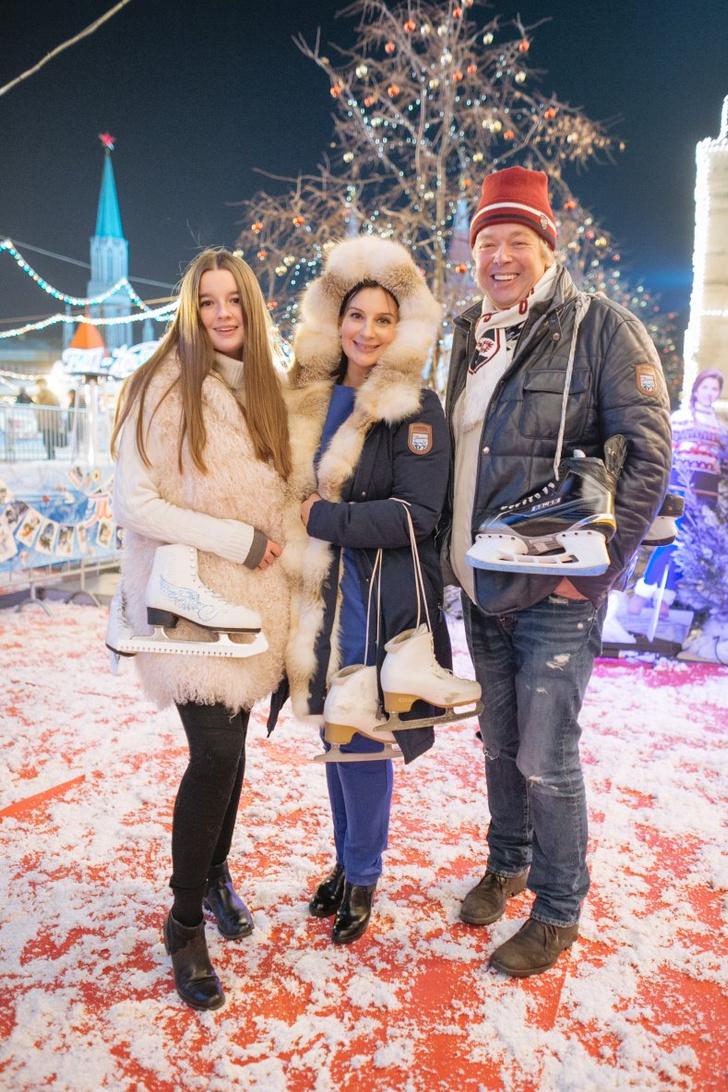 Екатерина и Александр Стриженовы с дочерью