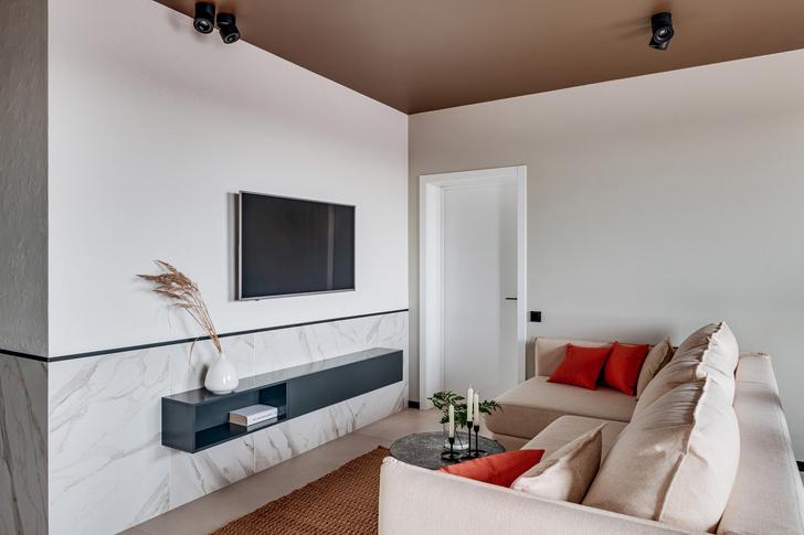 Современная квартира 70 м² с этническим декором (фото 5)