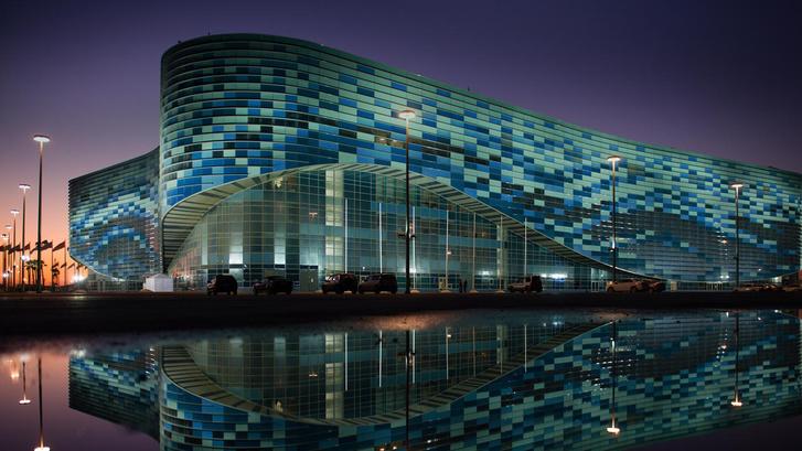 Стадион «Айсберг» в Олимпийском парке в Сочи