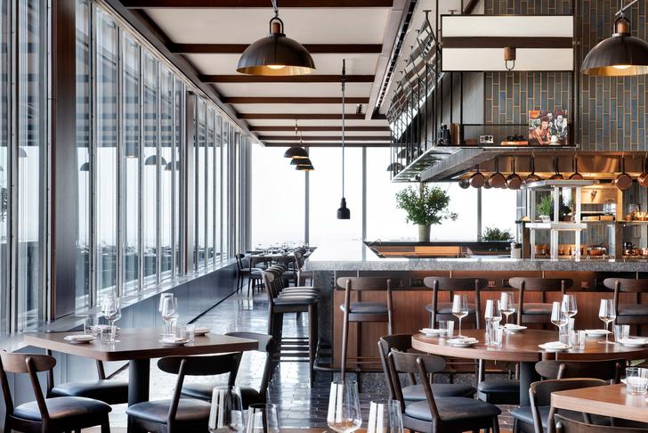 Ресторан в небоскребе с видом на Манхэттен (фото 2)