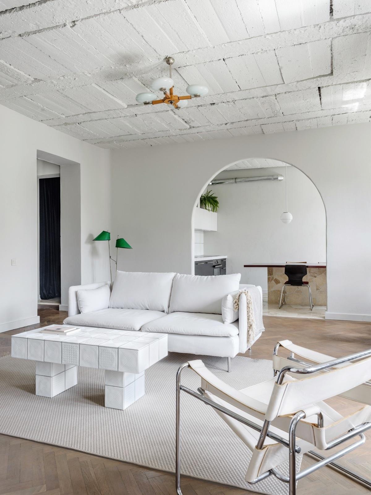 Мягкая группа в гостиной: 15+ примеров (галерея 0, фото 5)
