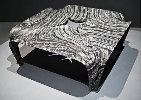 Мраморные вазы и столы от Захи Хадид | галерея [1] фото [11]