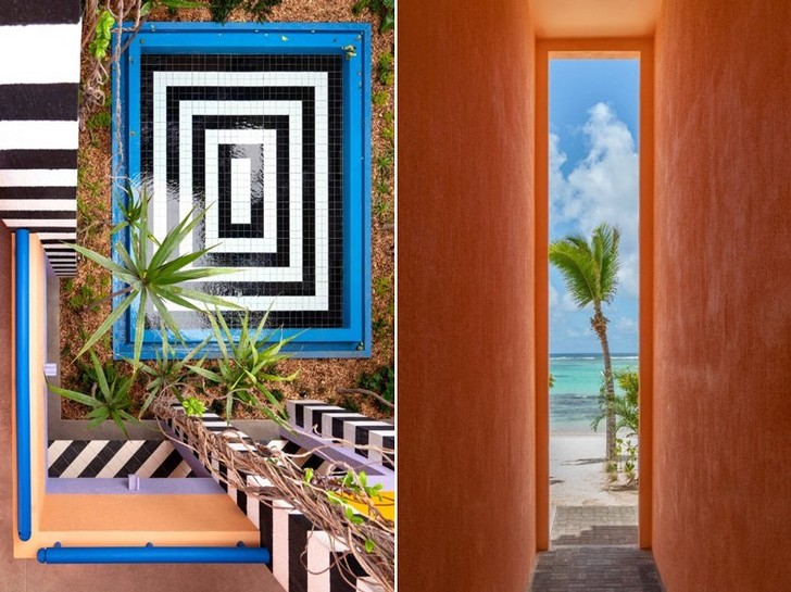Графичный бутик-отель на Маврикии (фото 3)