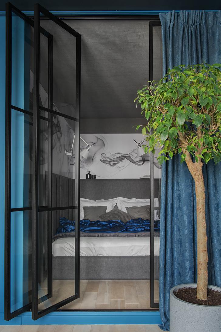 Идеи зонирования: 20+ примеров стеклянных перегородок (галерея 1, фото 9)
