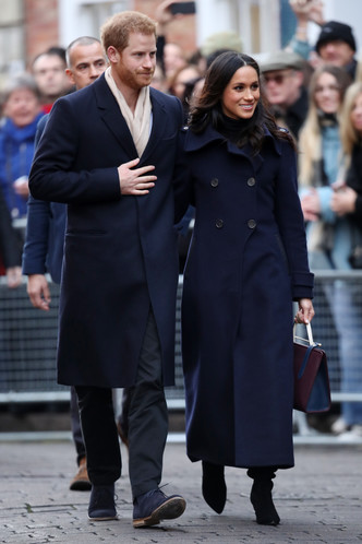 Фото дня: принц Гарри и Меган Маркл в Ноттингеме (фото 4)