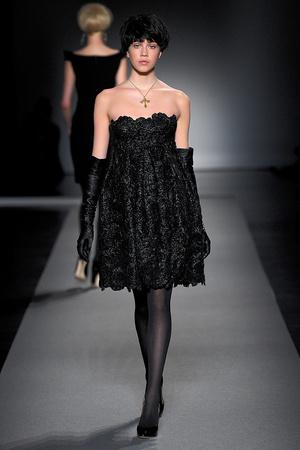 Показ Christophe Josse коллекции сезона Осень-зима 2011-2012 года Haute couture - www.elle.ru - Подиум - фото 276965