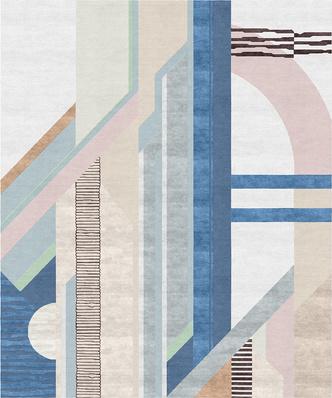 Авангард, лестницы и море: ковры от русских дизайнеров (фото 3.1)
