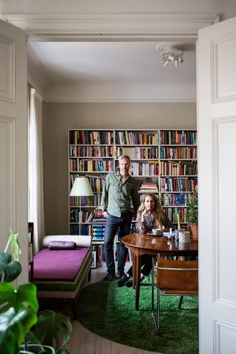 Дом для творческой пары в Стокгольме (фото 0)