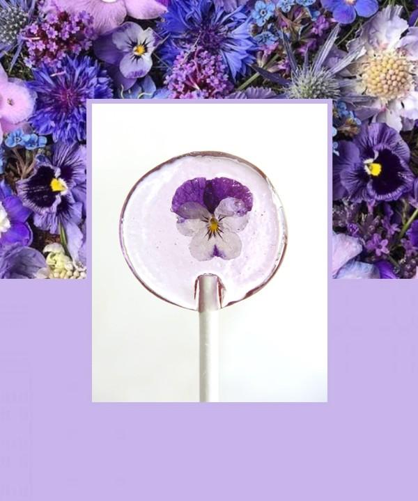 Фуд-тренд: живые цветы в десертах