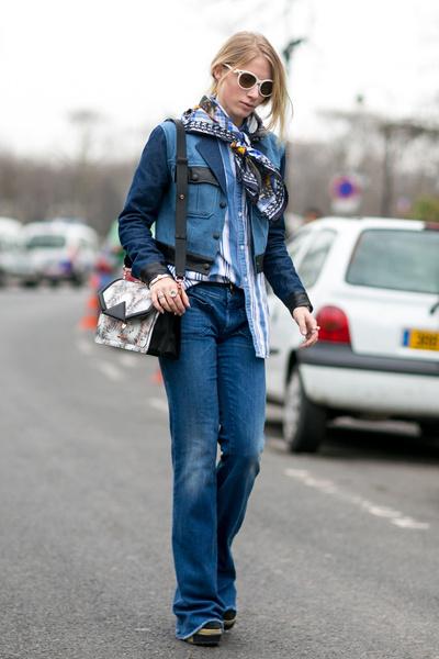 C чем носить джинсы осенью фото | галерея [1] фото [1]