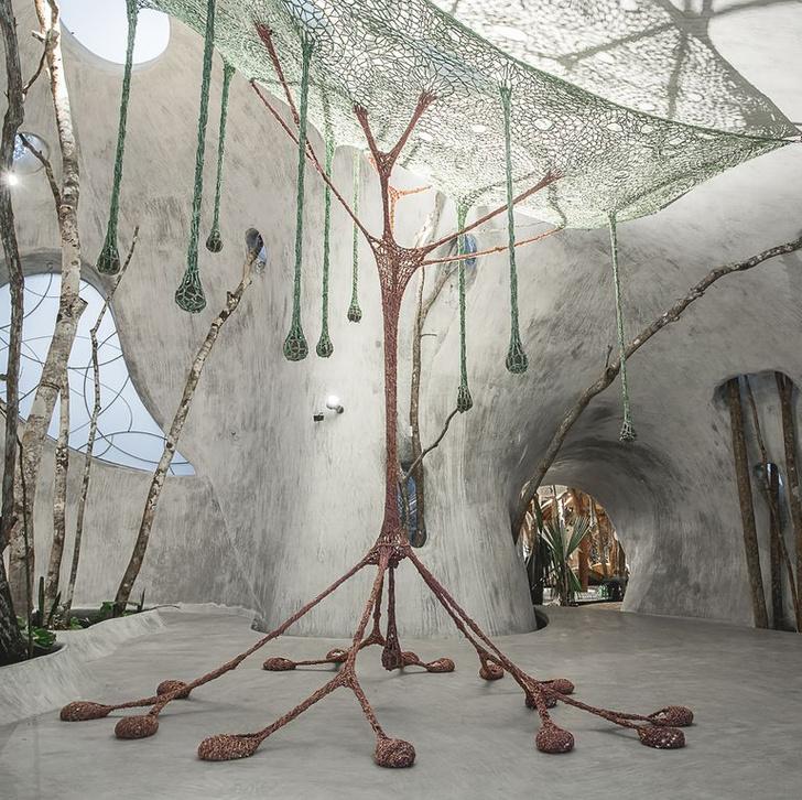 Отель Azulik с pop-up бутиком Dior в джунглях Тулума (фото 13)