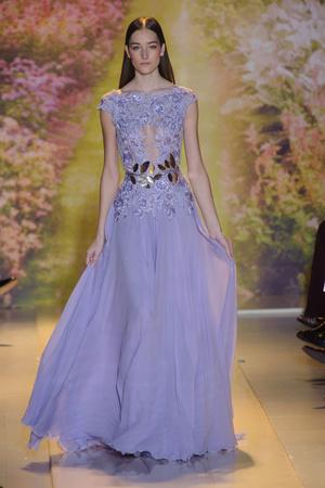 Показ Zuhair Murad коллекции сезона Весна-лето 2014 года haute couture - www.elle.ru - Подиум - фото 575370