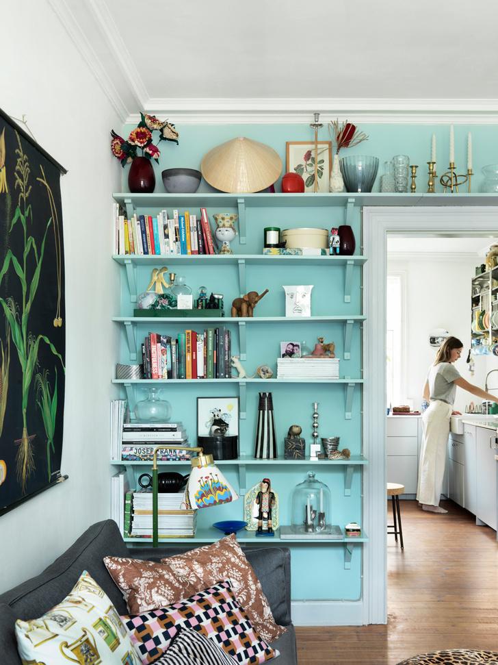 Яркая квартира для творческой пары в Копенгагене (фото 9)