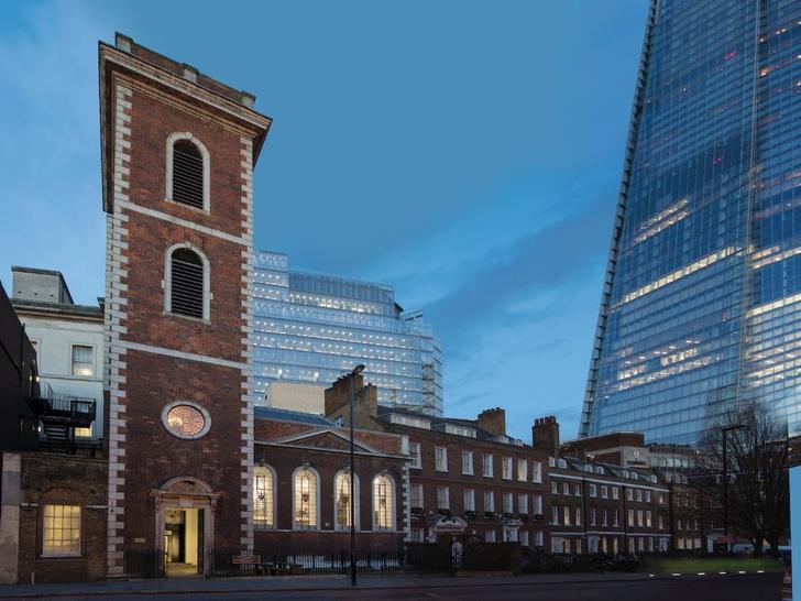 Лондонский ресторан в церкви по проекту Michaelis Boyd (фото 0)