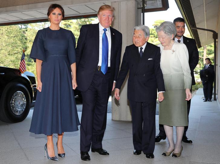 Мелания Трамп в Christian Dior фото